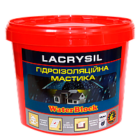Гидроизоляционная мастика WaterBlock 1 кг, Лакрисил