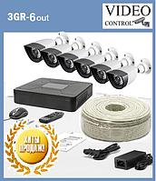 """Системы видеонаблюдения 3G-SDI  """"3GR-6"""" (1980×1080)"""