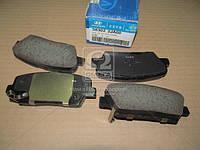 Колодки тормозные задние (диск) (Производство Mobis) 583022JA00, AFHZX