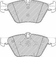 Колодки тормозные передние BMW 3(E90)/1(E81) 04-13 (ATE) (154,8x63,6x20)