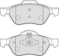 Колодки тормозные (передние) Renault Megane/Scenic 03-