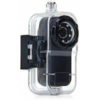 F38 мини экшн камера 1080P Full HD, водонепроницаемая до 10м, широкий объектив фишай 120 градусов Чёрный