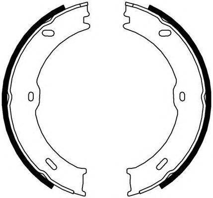 Колодки ручного тормоза Sprinter/Crafter 06-, фото 2