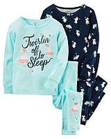 Набор пижам с мышками Carters Картерс для девочки, 93,98,104,110 см