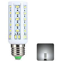Шарик 9W E27 СИД SMD 5730 50 светодиодов теплый белый кукурузы свет (с 960lm 2800-3200К 220В) Холодный белый