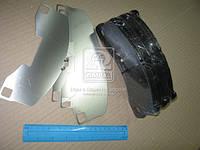 Колодки дискового тормоза (производство Jurid), AGHZX
