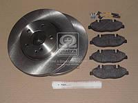 Комплект тормозной передн. MERCEDES VIANO (W639) 09/03- (пр-во REMSA), AHHZX