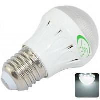 XinYiTong E27 3 Вт 10 СМД 2835 6500k светодиодные фонари супер яркий шарик лампы (300lm белый свет) Холодный белый