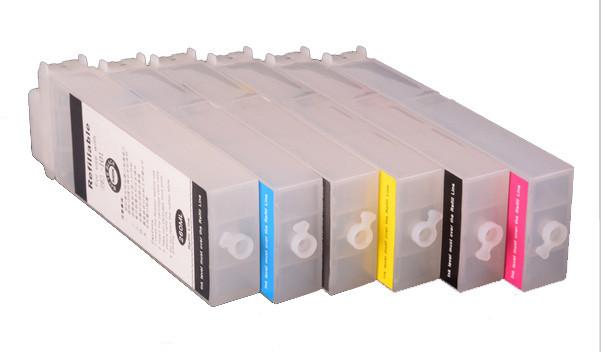 Перезаправляемые картриджи Ocbestjet тип F4 для плоттеров Canon iPF650/iPF750 с чипами (6 шт. по 260 мл)