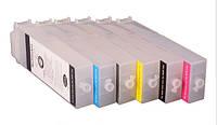 Перезаправляемые картриджи (ПЗК/ДЗК) тип F4 для Canon iPF650/iPF750 с чипами (6 шт. по 260 мл)