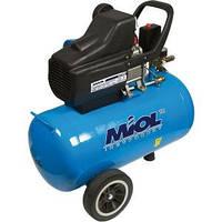 Компрессор воздушный масляный Miol 24 литра 81-152