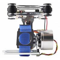 Бесщеточный подвес для GoPro 3 на квадрокоптер для DJI Phantom Серебристый