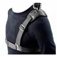 NEOPine ГСС-1 эластичный Регулируемый один плечевой ремень для экшн-камер GoPro Аксессуары для переезда фотография Чёрный