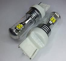 Светодиодная автолампа 7440(W21W)-T20- 40W (580Lm) CREE XBD X*8PCS (580Lm) OEM Beam angle design