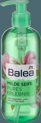 Жидкое мыло Balea Magnolie & grüner Tee, 300 мл с дозатором