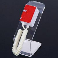 Анти-Кражи Мобильного Телефона Для Одежды Прозрачный Пластиковый L-Образный Стенд Прозрачный