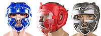 Шлем для единоборств с прозрачной пластиковой маской PVC EVERLAST