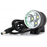LuckySun F3 в Cree светодиодный водостойкий передний фонарь для кемпинга Чёрный