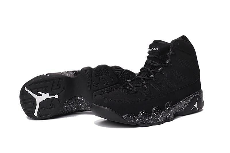 Баскетбольные кроссовки Air Jordan 9 Custom Black - Интернет-магазин zakyt. com - ЗАКУТКОМ 52f3359cd24