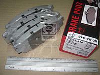 Колодка тормозной MAZDA 626 (Производство ASHIKA) 50-03-318, AEHZX