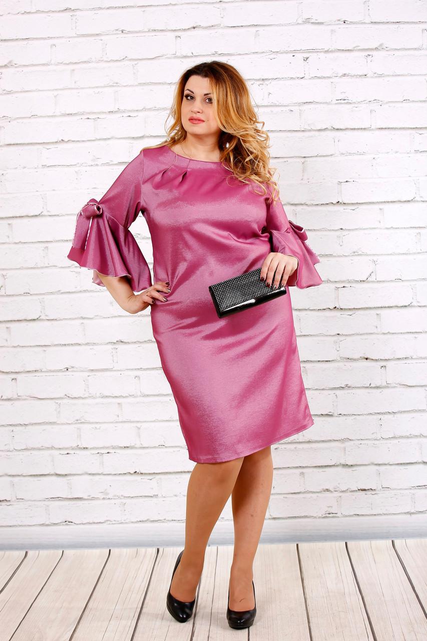 79631e5915d1 Стильное платье для полных женщин 0705 фрез