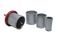 Свёрла для плитки с вольфрамовым напылением - 32-83 мм, набор
