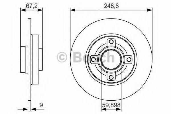 Тормозной диск, фото 2