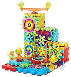Детский конструктор Funny Blocks/ Шестерёнка 81 деталь