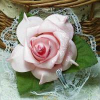 Элегантный клей поддельные Роуз сельская местность ткань кружево крюк одежда шляпа Вешалка Многофункциональный Домашний Декор предметы обихода Розовый