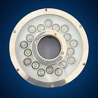 Монтаж подводного светильника