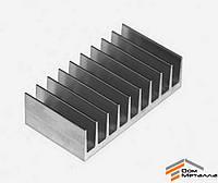 Радиаторный профиль алюминиевый 92х26мм без покрытия