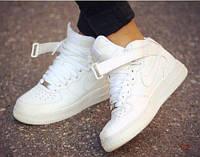 Кроссовки Nike Air Force High White