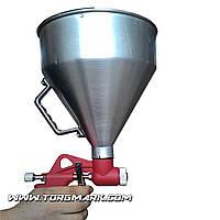 Штукатурный распылитель, три форсунки 4;6;8 мм, В/Б металлический, 6000 мл, 3-6 ba, фото 1