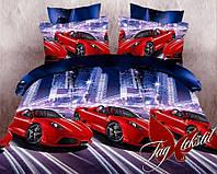 Комплект постельного белья подростковый TAG кабриолет хлопок 100%