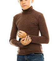 Гольф (водолазка) подростковый, кашемир, кофе