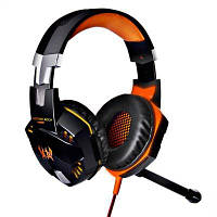 EACH G2000 USB игровая гарнитура Оранжевый