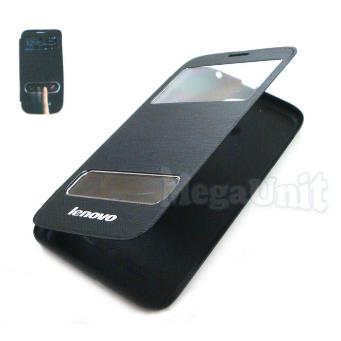 Чехол-панель Flip Cover для Lenovo A850 Черный