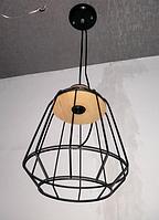 Люстра Лофт на 1 лампу 6243 (черная)