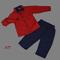 Нарядный костюм с бабочкой для мальчика Турция на 1, 2, 4 года (МАЛОМЕРИТ), фото 1