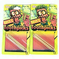 6шт горячая зубочисткой игрушка гаджет шутки Светлый хаки