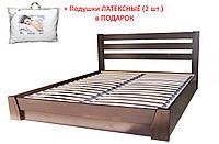 Кровать СЕЛЕНА (160х200 см) с подьемным механизмом + подушки ЛАТЕКСНЫЕ (2 шт) в подарок
