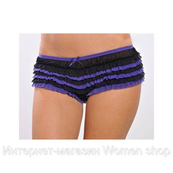 Трусики-шортики фиолетового цвета