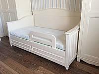 Кровать детская подростковая Лиза, массив дуб, ясень, ольха, мдф, фото 1