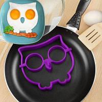 Инновационная форма совы силиконовая форма для жаренья блина и яичницы модель для завтрака творческие кухонные принадлежности для DIY подарка