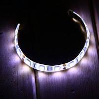 20CM 4W SMD 5050 12 светодиодные полосы света водонепроницаемая гибкая ленточная лампа 6000-6500K Холодный белый