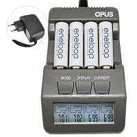 Opus BT-C700 Зарядное устройство с LCD экраном для NiCd и NiMH аккумуляторов с US Вилкой Европейская вилка