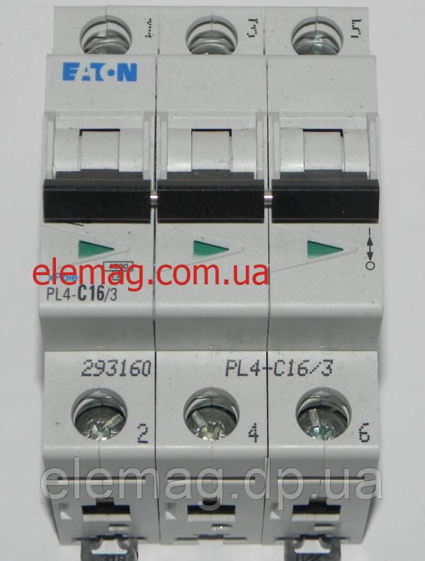 PL4-C16/3 Eaton (Moeller) Автоматический выключатель