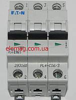 Автоматический выключатель Moeller PL 4-C 16А/3