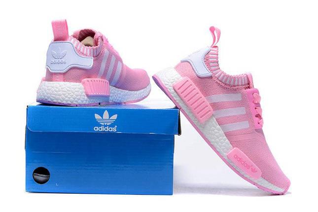 Кроссовки женские Adidas NMD Runner PK розовый, фото 2