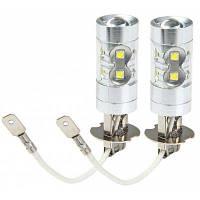 Sencart PK22S H3 в 50 Вт 10 Кри xpe светодиодов 3100lm решетки 6500-7500k вела автомобиль тормоз Лампа противотуманные фары-1 пара Холодный белый